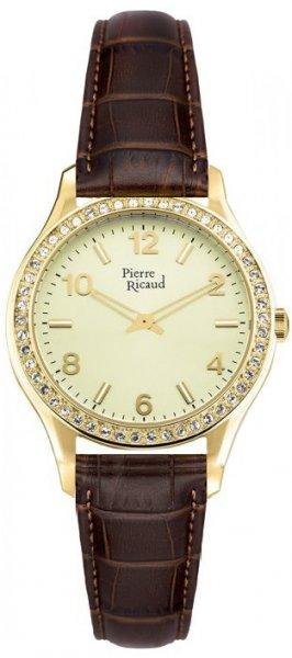 Zegarek damski Pierre Ricaud pasek P21068.1251QZ - duże 1