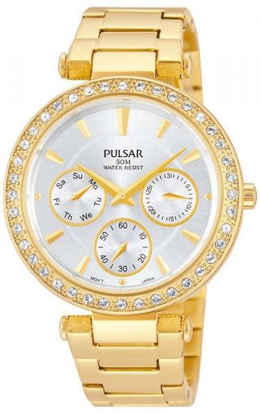 Zegarek damski Pulsar eleganckie PP6160X1 - duże 1