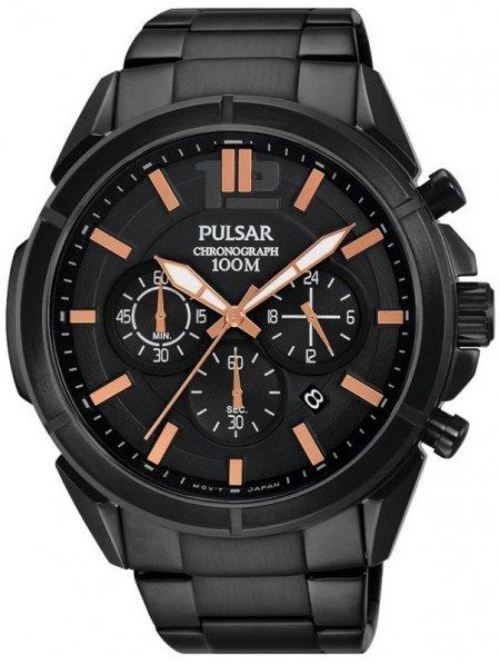 Zegarek męski Pulsar sport PT3765X1 - duże 1