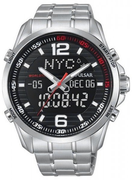 Zegarek męski Pulsar sport PZ4001X1 - duże 1