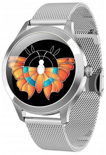 Rubicon SMARUB045 Smartwatch Rubicon RNBE37 PRO srebrny