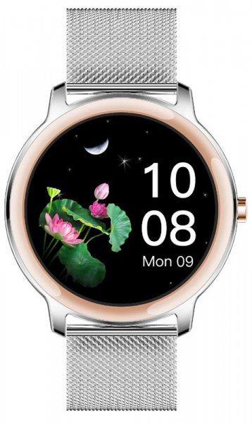 Rubicon SMARUB056 Smartwatch Rubicon RNBE66 srebrny