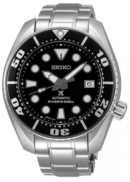 Zegarek męski Seiko diver's SBDC031J1 - duże 1