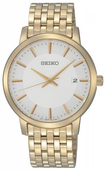 Zegarek męski Seiko classic SGEF92P1 - duże 1