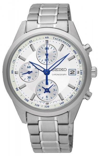 Zegarek damski Seiko chronograph SNDV51P1 - duże 1