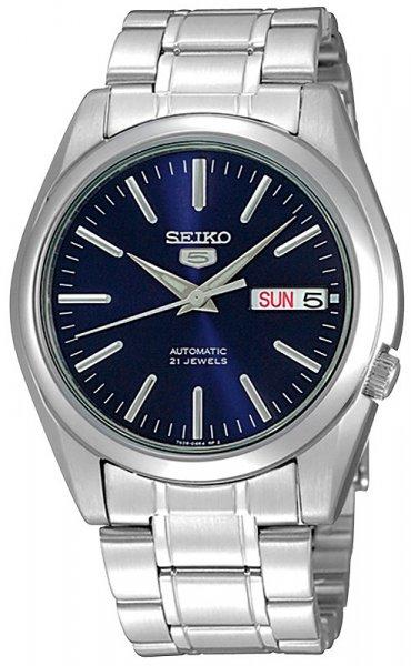Zegarek męski Seiko automatic SNKL43K1 - duże 1