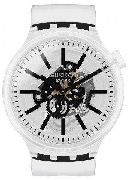 Swatch SO27E101 Big Bold BLACKINJELLY