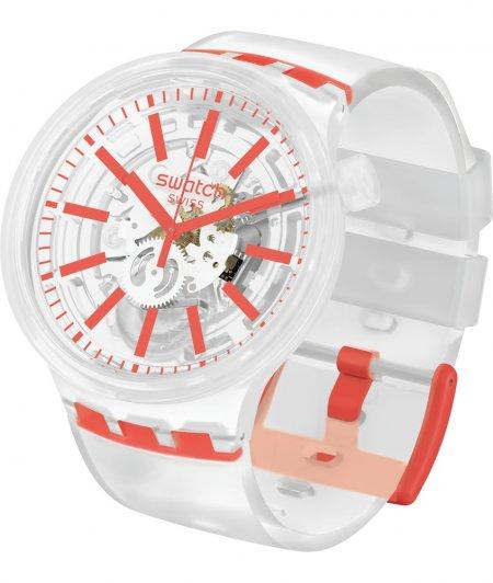 Zegarek unisex Swatch big bold SO27E102 - duże 1