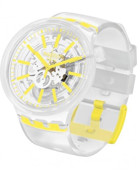 Zegarek unisex Swatch big bold SO27E103 - duże 1