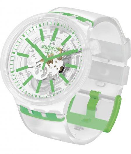Zegarek unisex Swatch big bold SO27E104 - duże 1