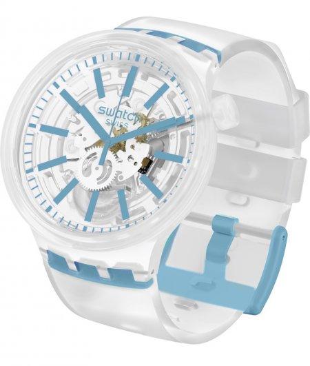 Zegarek unisex Swatch big bold SO27E105 - duże 1
