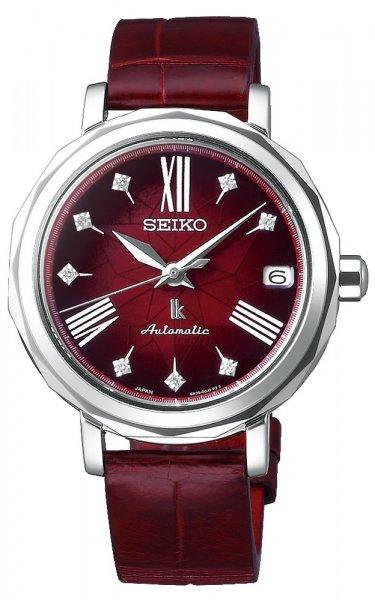 Zegarek damski Seiko lukia SPB135J1 - duże 1