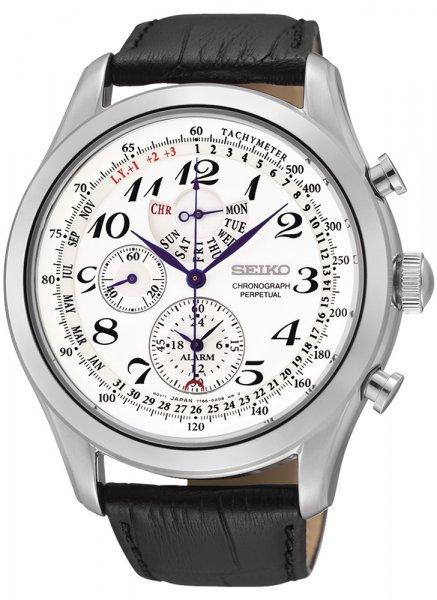 Zegarek męski Seiko chronograph SPC131P1 - duże 1