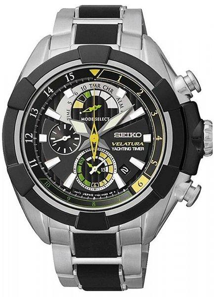 Zegarek męski Seiko velatura SPC147P1 - duże 1