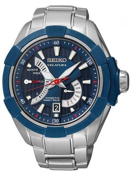Zegarek męski Seiko velatura SRH017P1 - duże 1