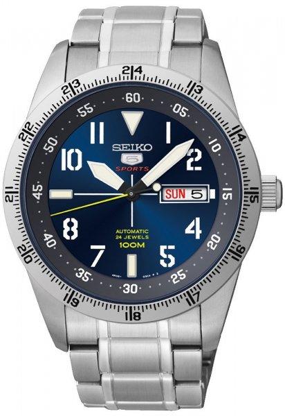 Zegarek męski Seiko sports automat SRP511K1 - duże 1