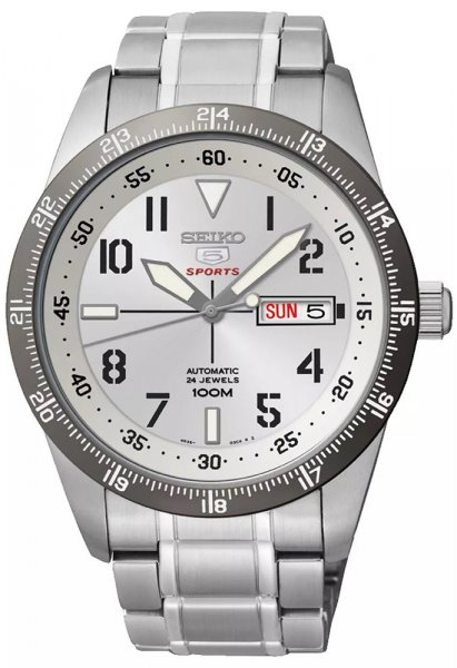 Zegarek męski Seiko sports automat SRP517K1 - duże 1
