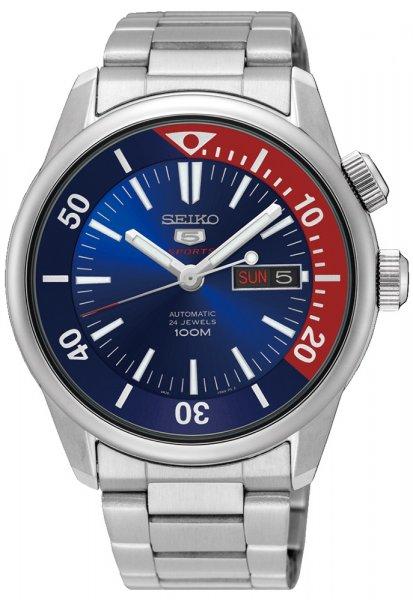 Zegarek męski Seiko sports automat SRPB25K1 - duże 1