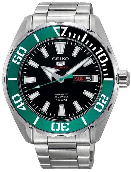 Zegarek męski Seiko sports automat SRPC53K1 - duże 1
