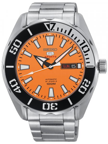 Zegarek Seiko SRPC55J1 - duże 1