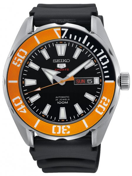 Zegarek męski Seiko sports automat SRPC59K1 - duże 1