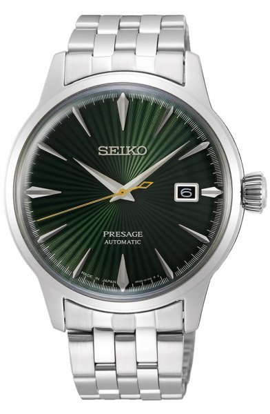 Zegarek męski Seiko presage SRPE15J1 - duże 1