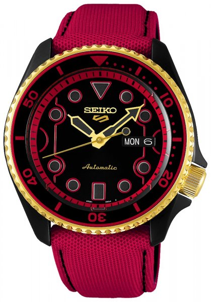 Seiko SRPF20K1 Sports Automat 5 Sports Automatic Street Fighter V Limited Edition