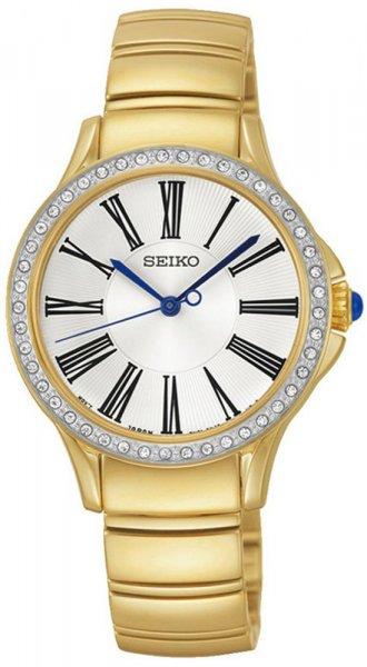 Zegarek damski Seiko classic SRZ442P1 - duże 1