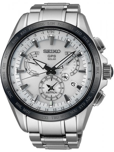 Zegarek męski Seiko astron SSE047J1 - duże 1
