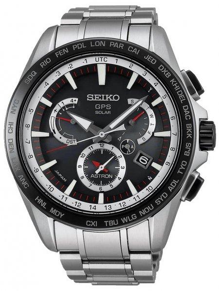 Zegarek męski Seiko astron SSE051J1 - duże 1