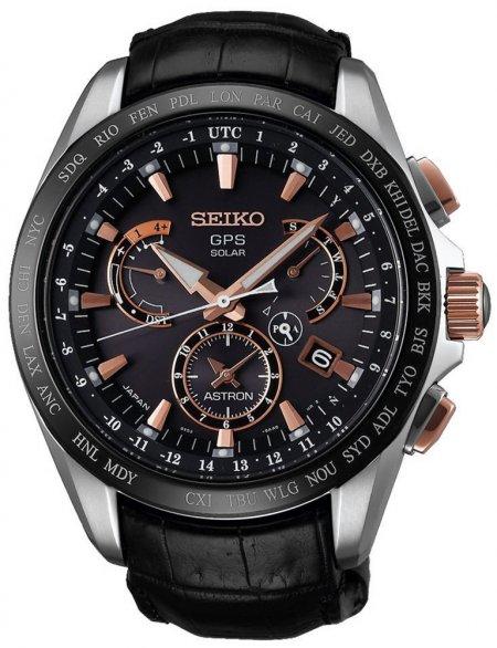 Zegarek męski Seiko astron SSE061J1 - duże 1