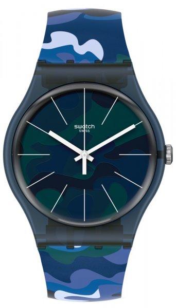 Zegarek damski Swatch originals SUON140 - duże 1