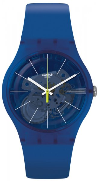 Zegarek unisex Swatch originals new gent SUON142 - duże 1