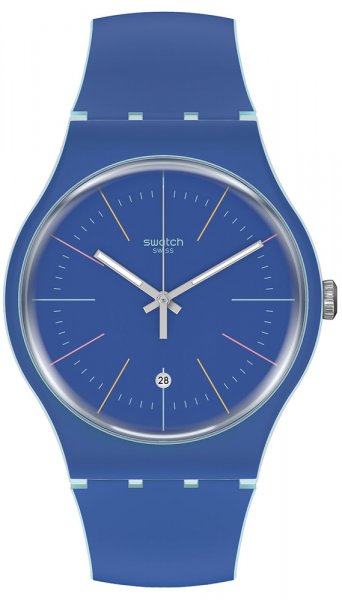 Swatch SUOS403 Originals New Gent BLUE LAYERED