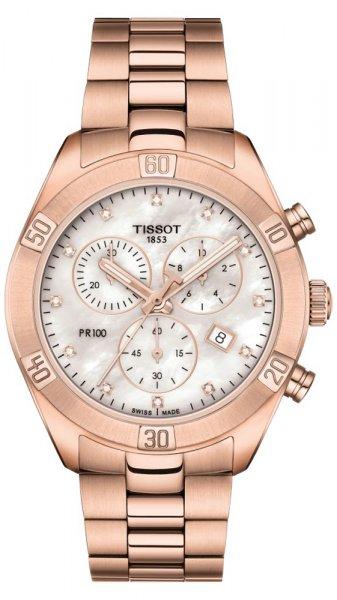 Zegarek damski Tissot pr 100 T101.917.33.116.00 - duże 1