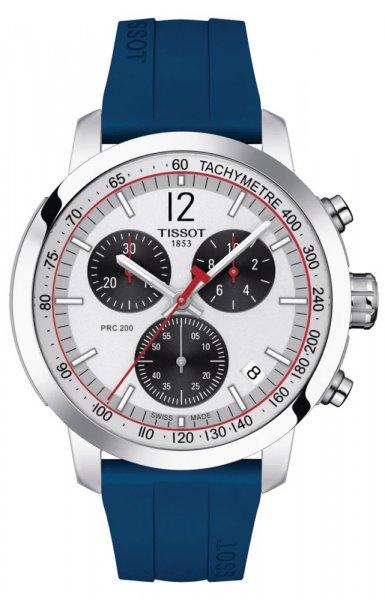 Zegarek męski Tissot prc 200 T114.417.17.037.00 - duże 1