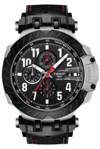 Zegarek męski Tissot t-race T115.427.27.057.00 - duże 1