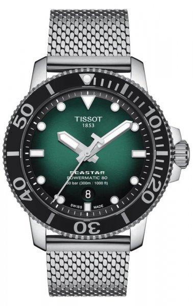 Zegarek męski Tissot seastar 1000 T120.407.11.091.00 - duże 1