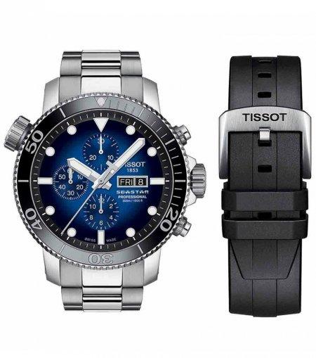 Zegarek męski Tissot seastar 1000 T120.614.11.041.00 - duże 1