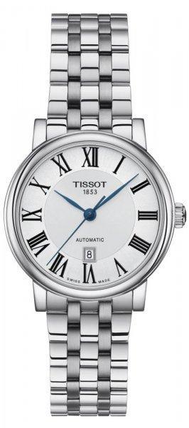 Zegarek damski Tissot carson automatic T122.207.11.033.00 - duże 1