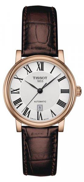 Zegarek damski Tissot carson automatic T122.207.36.033.00 - duże 1