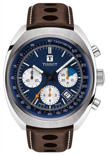 Zegarek męski Tissot heritage 1973 T124.427.16.041.00 - duże 1