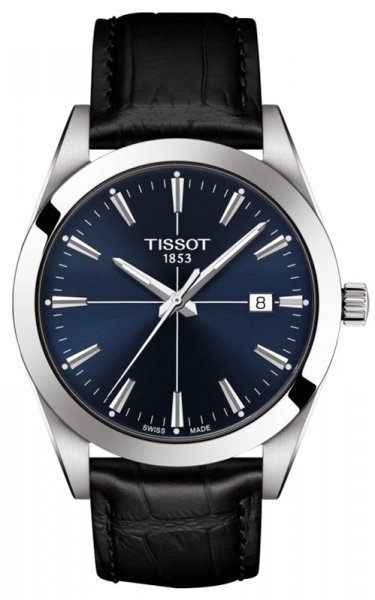 Zegarek męski Tissot t-classic T127.410.16.041.01 - duże 1