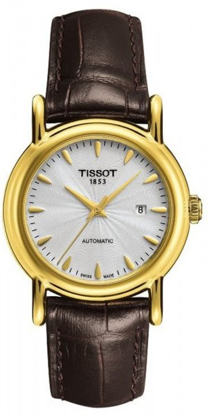 Tissot T907.007.16.031.00 Carson Gold CARSON LADYGOLD AUTOMATIC