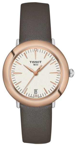 Zegarek damski Tissot glendora T929.210.46.266.00 - duże 1