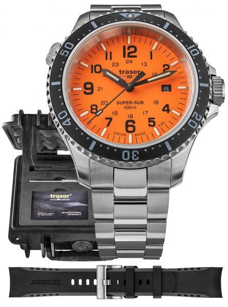 Traser TS-109379 P67 SuperSub P67 SuperSub Orange Special Set