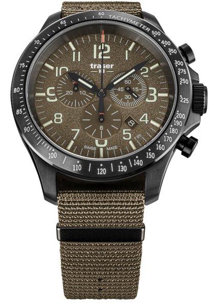 Traser TS-109459 P67 Officer Pro P67 Officer Pro Chronograph Khaki NATO