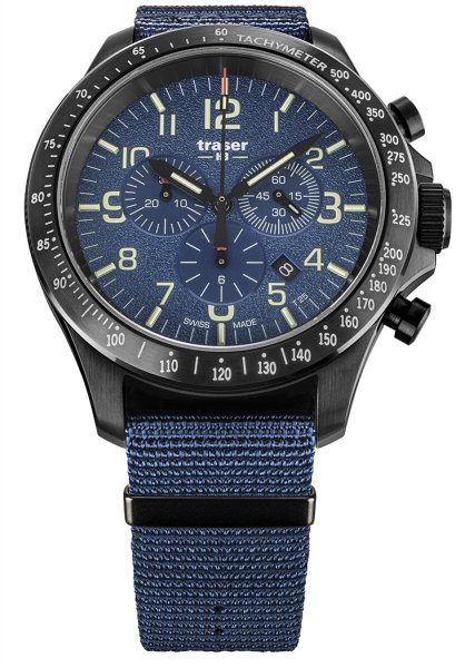 Traser TS-109461 P67 Officer Pro P67 Officer Pro Chronograph Blue NATO