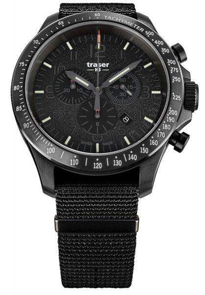 Traser TS-109465 P67 Officer Pro P67 Officer Pro Chronograph Black NATO