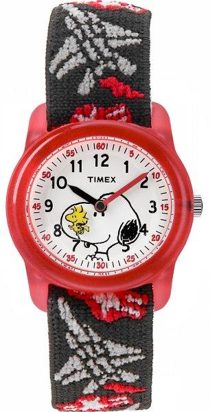 Timex TW2R41600-POWYSTAWOWY Dla dzieci Timex x Peanuts Snoopy  Hearts